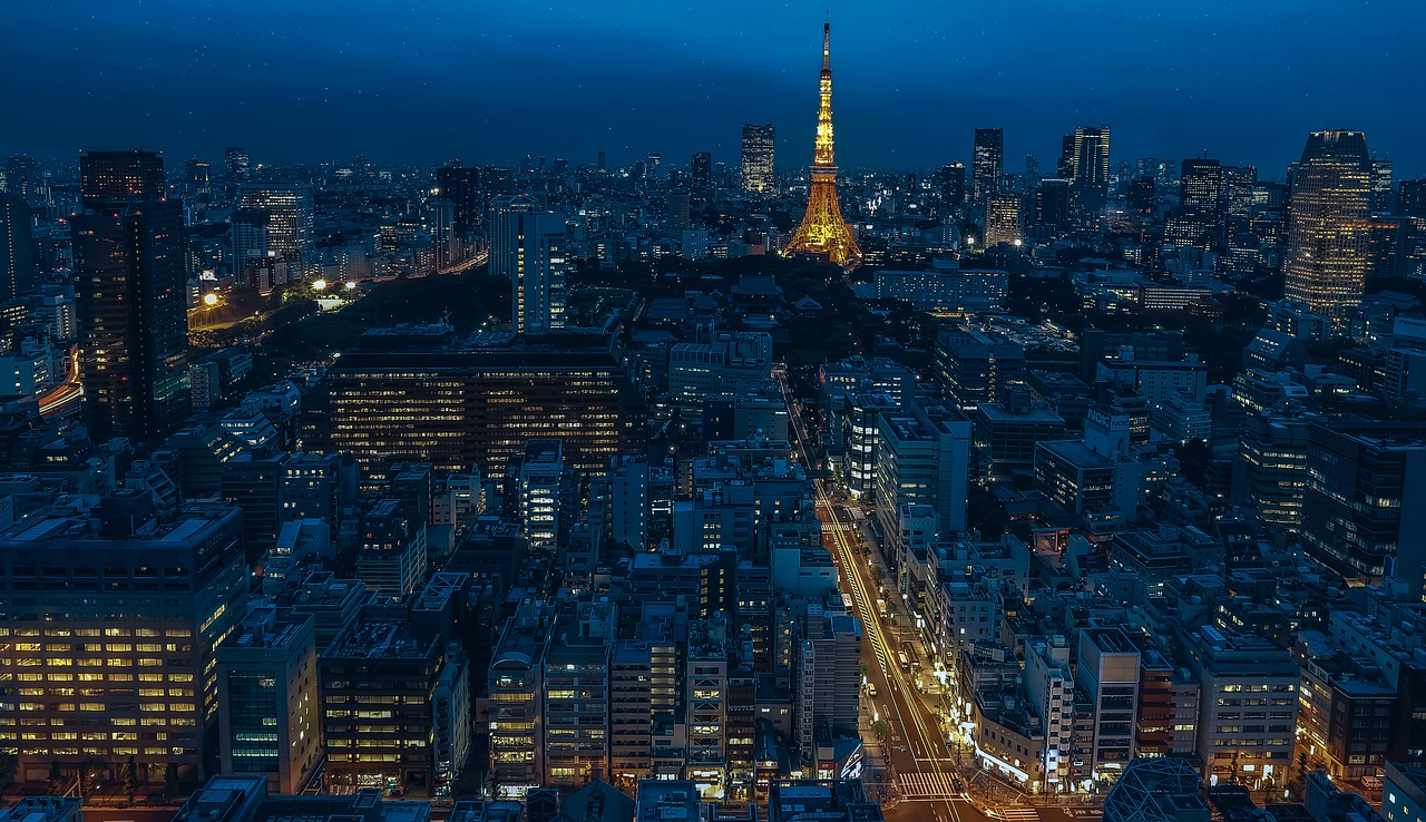 tokyo 2138168 1280 - ゴールデンウィーク、おすすめ関東旅行。 イベント・穴場・ツアーもチェックしよう。